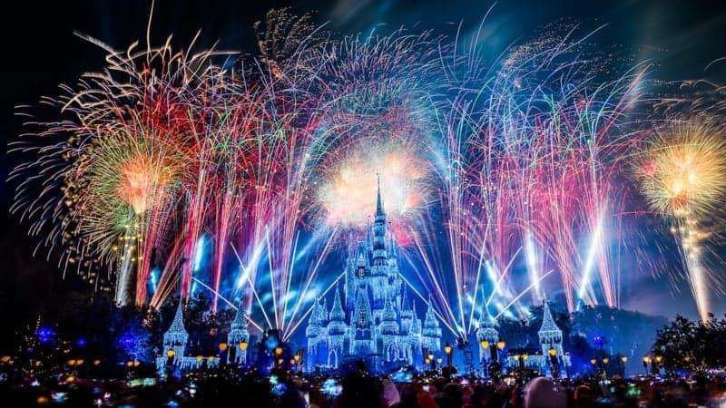 New Year's Fireworks Live Stream Disney Parks