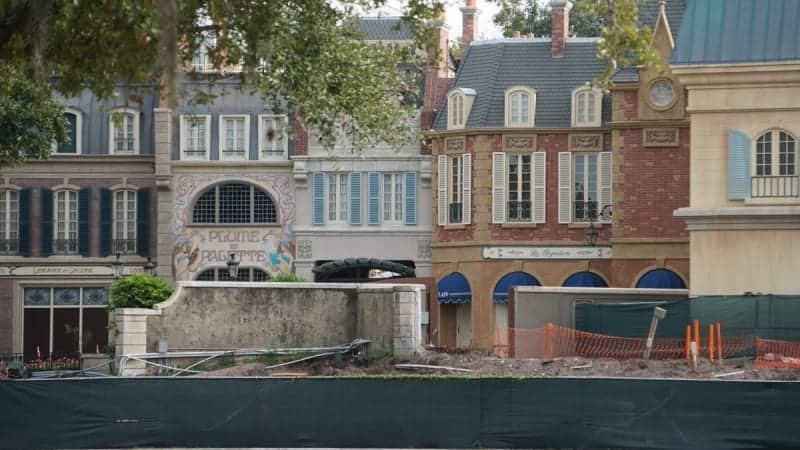 Remy's Ratatouille Adventure Construction Update December 2018