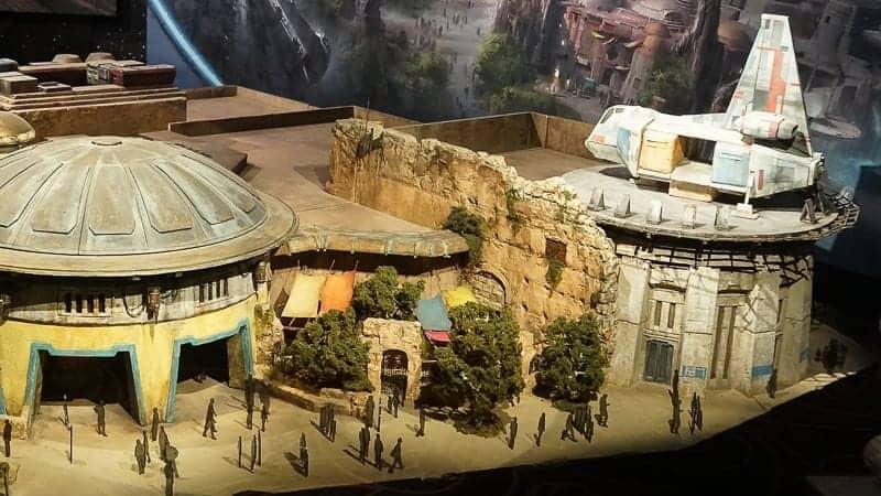 Star Wars Galaxy's Edge Construction Update December 2018
