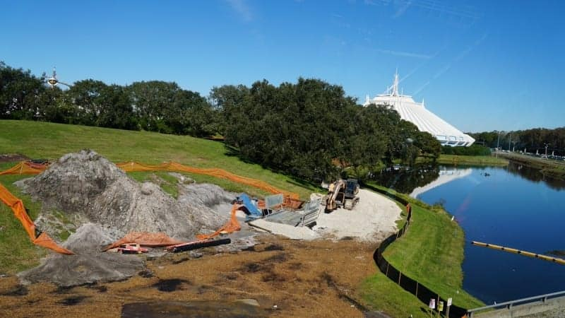 Tron Roller Coaster Construction Update December 2018 Magic Kingdom