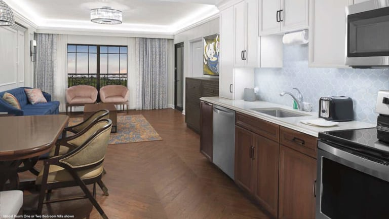 First Look at Disney's Riviera Resort Rooms 2 bedroom villa