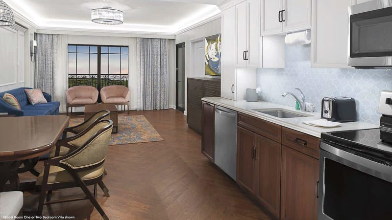 First look at disney 39 s riviera resort rooms photos and - 2 bedroom villas near disney world ...