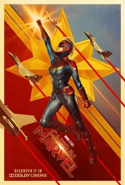 New Captain Marvel Trailer Poster