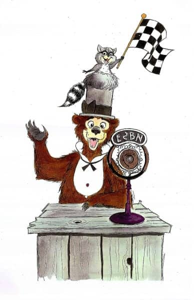 Rare Concept Art Released for Country Bear Jamboree Ride in Disneyland Critter Country 500