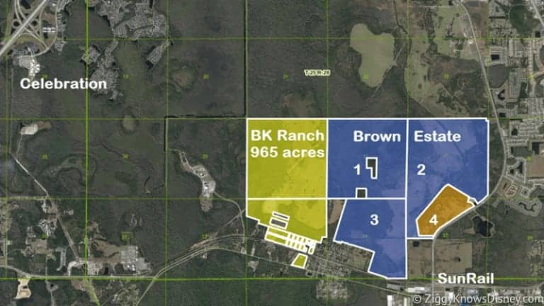 Disney Buys 1,500 acres of land in Osceola County for future expansion reasons