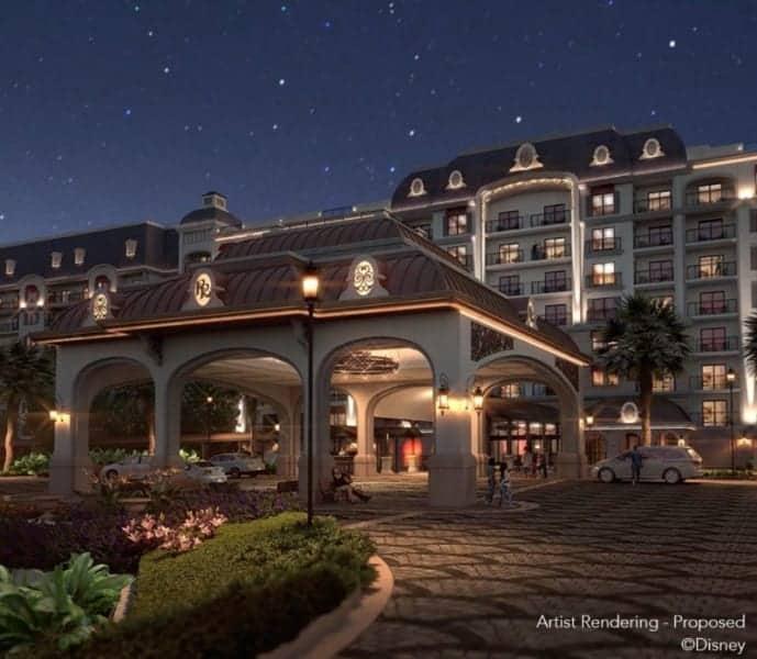 Disney's Riviera Resort Hotel Reservations entrance