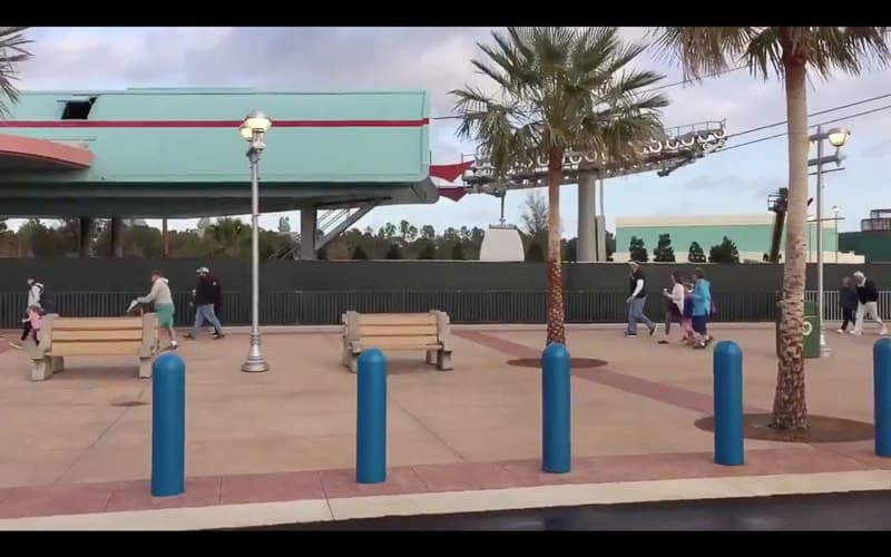 Disney Skyliner Gondola Construction Update January 2019 gondola testing