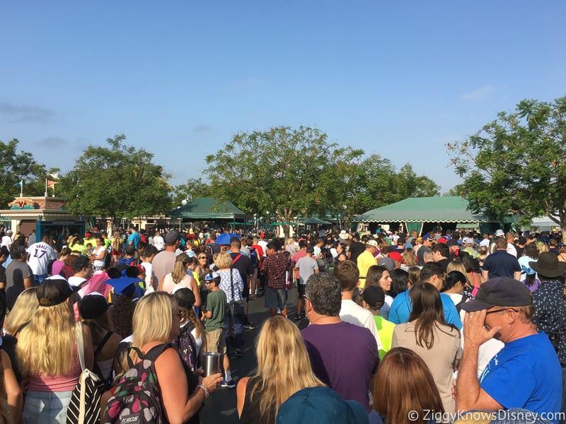 Disneyland Ticket Price Increase crowds