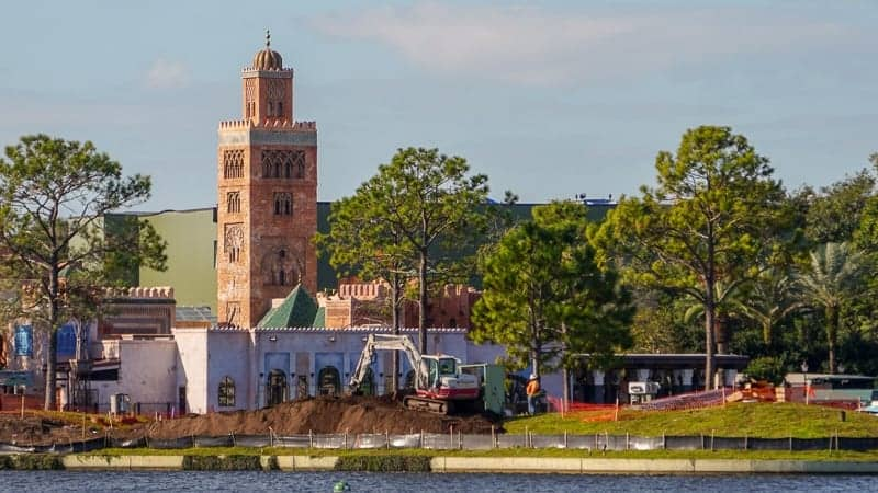 Epcot Forever Construction Progress January 2019