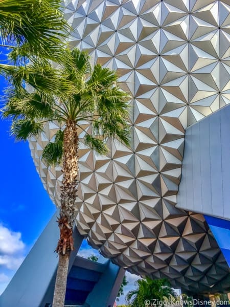 Epcot Spaceship Earth for Extra Extra Magic Hours