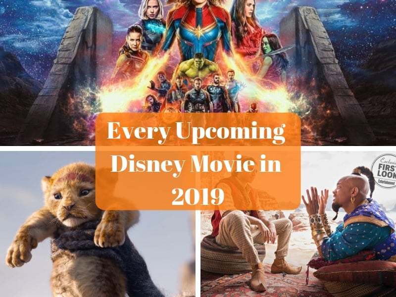 every upcoming Disney movie in 2019