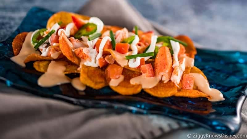 2019 Festival of the Arts Menu Lobster Chips
