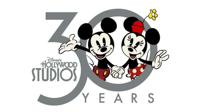 New 30th Anniversary Disney's Hollywood Studios Logo