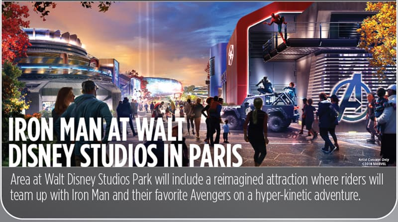Iron Man / Avengers Coaster Disneyland Paris Concept Art
