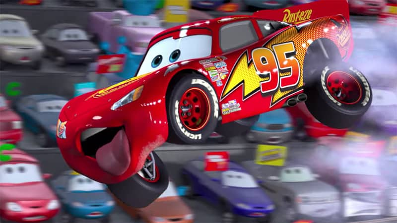 Lightning McQeen Racing Academy Art