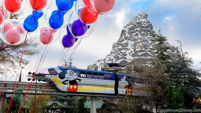 Mickey Mouse Monorail Disneyland
