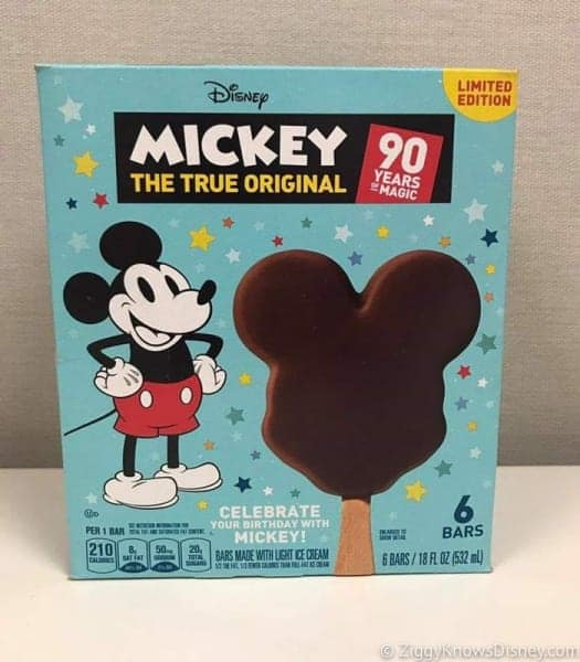 Mickey Premium Ice Cream Bar in Supermarkets