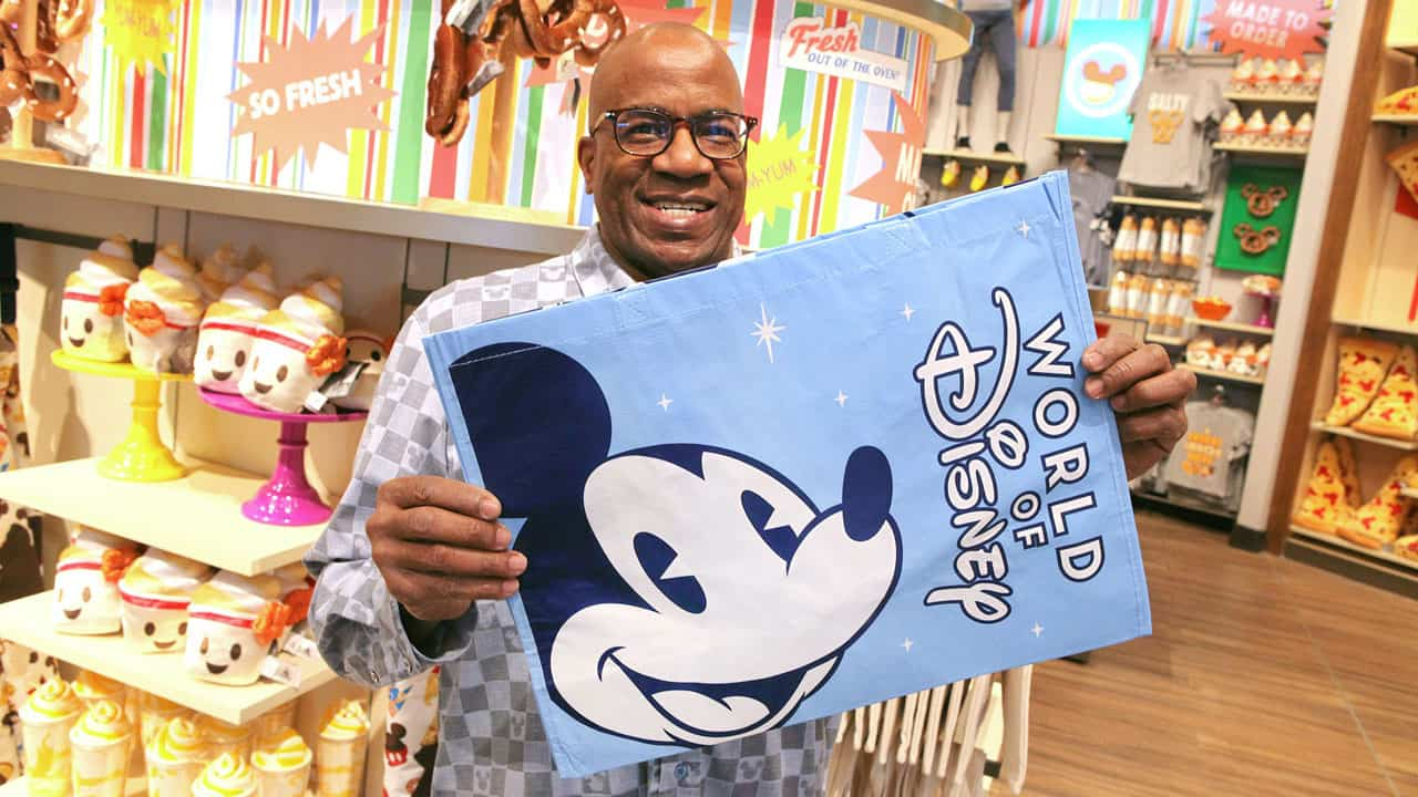 Character Reusable Bags available in Disney parks