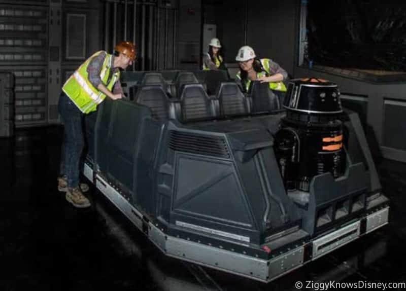 Star Wars: Rise of the Resistance Ride Vehicle Disneyland