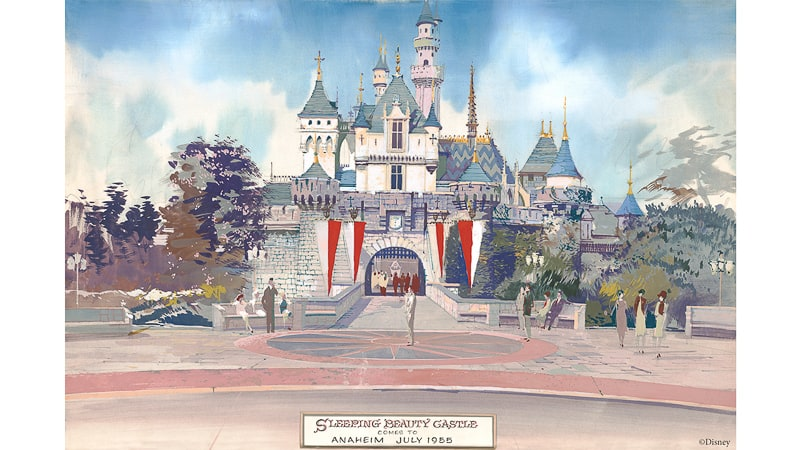 Project Stardust Disneyland Park Sleeping Beauty Castle