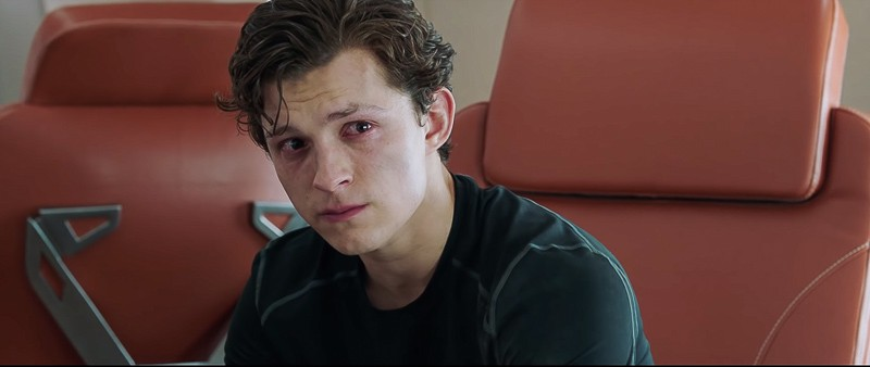 Peter Parker after Iron Man Death