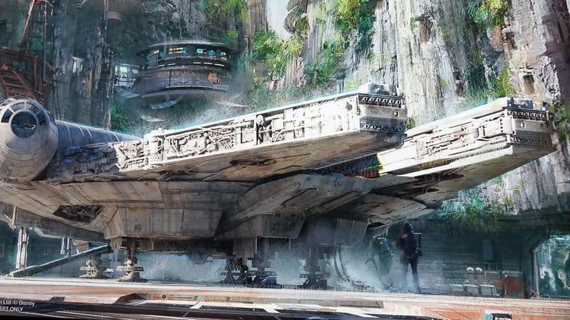 Star Wars Galaxy's Edge Construction Update January 2019
