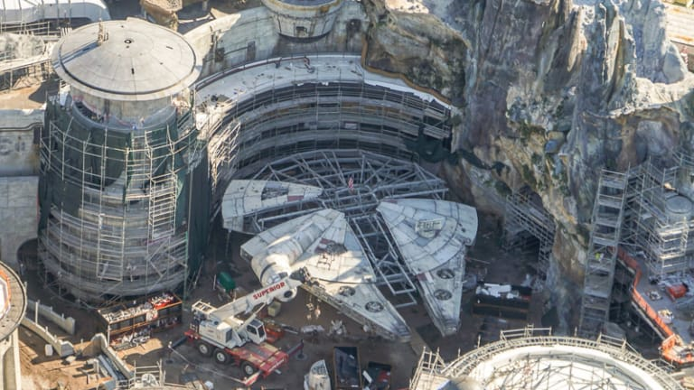 Star Wars Galaxy's Edge Construction Update January 2019