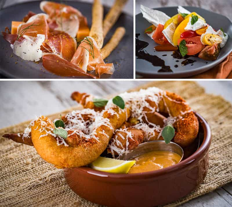 Toledo Tapas Steak & Seafood Reservations appetizers