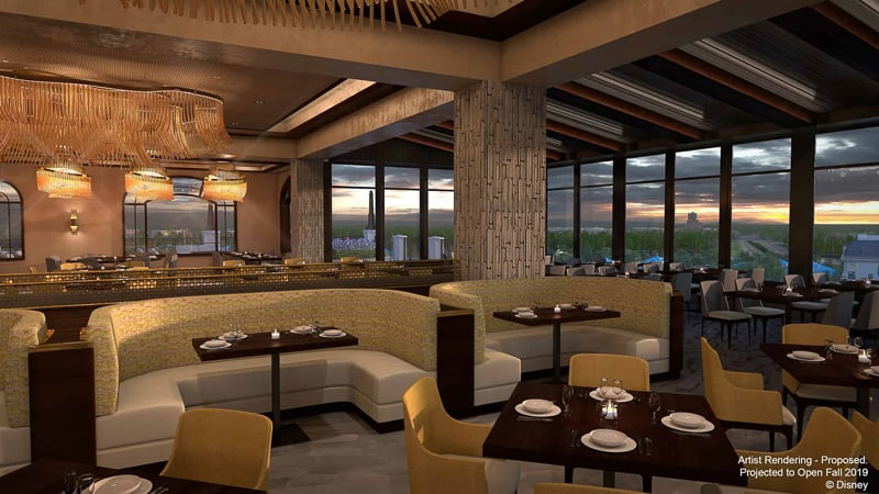 New Topolinos Terrace Flavors of the Riviera