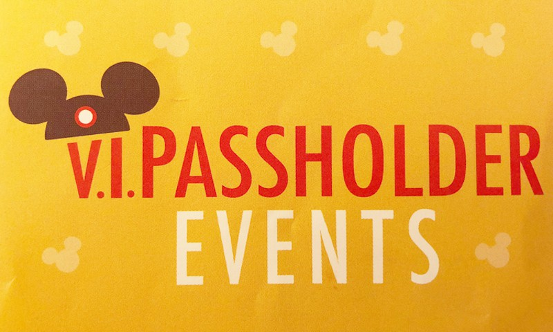 V.I.PASSHOLDER Nights Events Returning logo