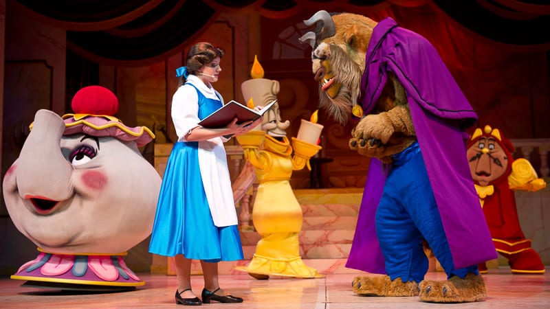 Beauty and the Beast Live on Stage Closing Refurbishment