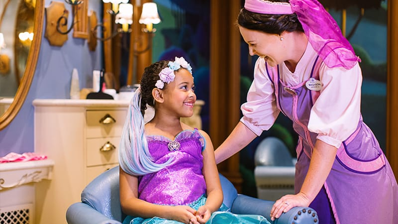 Bibbidi Bobbidi Boutique New Location Grand Floridian Resort