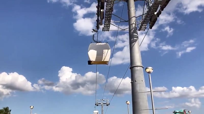 Disney Skyliner being tested Update February 2019
