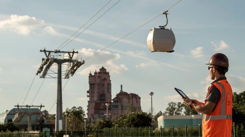 Disney Skyliner Gondola Testing Update. February 2019