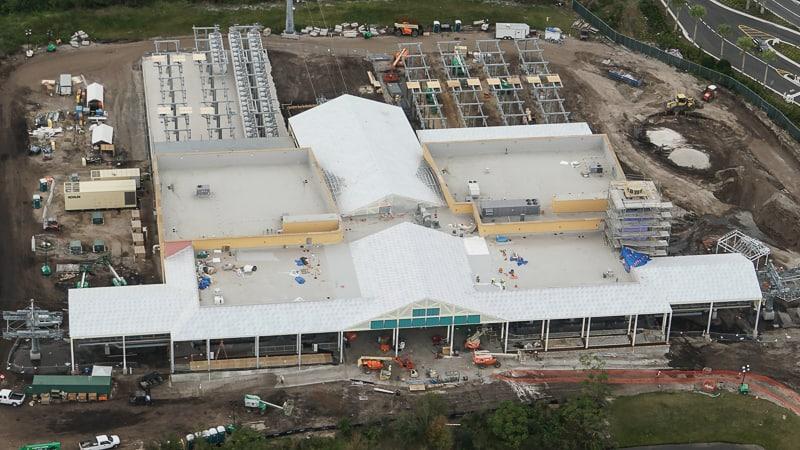 Disney Skyliner Update February 2019 Caribbean Beach station
