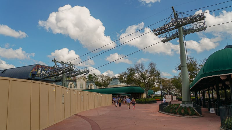 Disney Skyliner Construction Update February 2019 Epcot Station