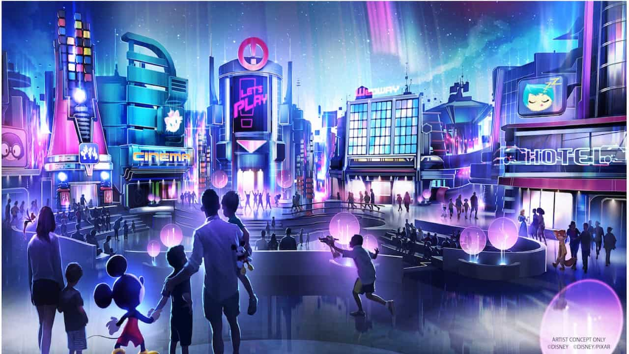 Kids Play Zone Concept Art Epcot
