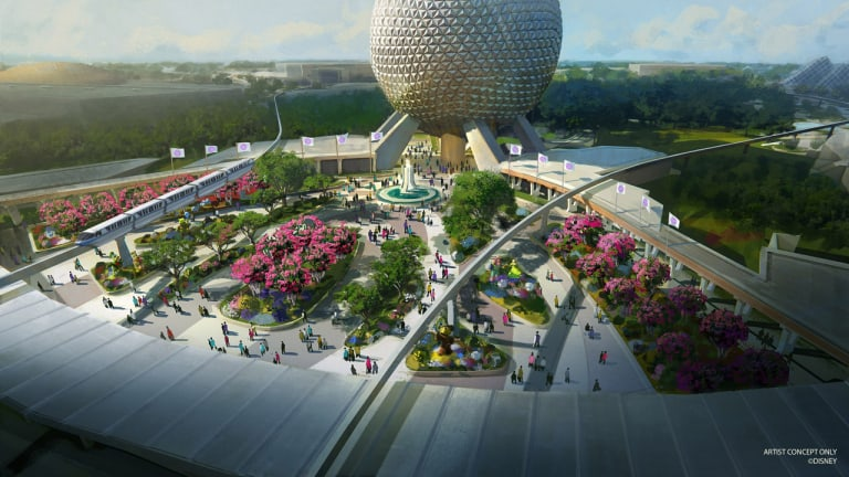 New Epcot Entrance Concept Art