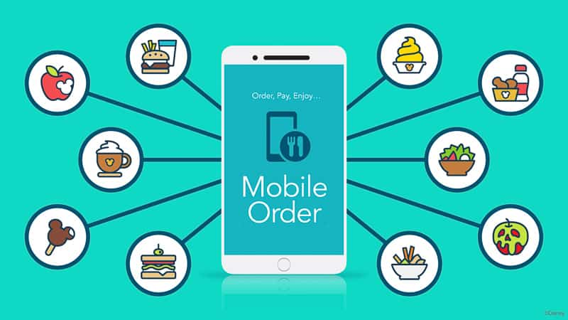 Mobile Order new features Disneyland and Disney World