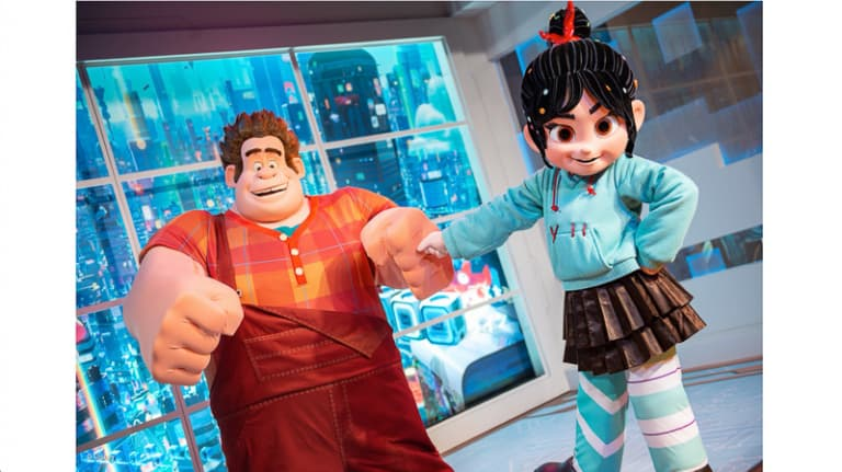 New Location for Ralph and Venellope Meet and Greet Epcot