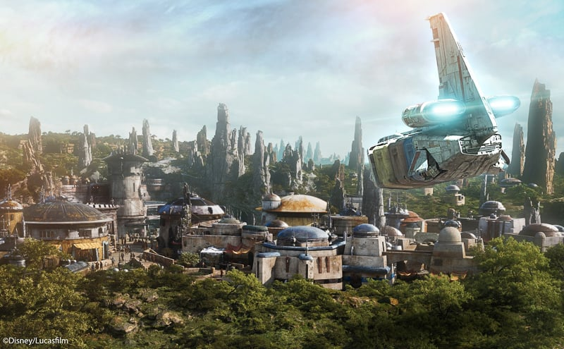 Star Wars Galaxy's Edge Concept Art