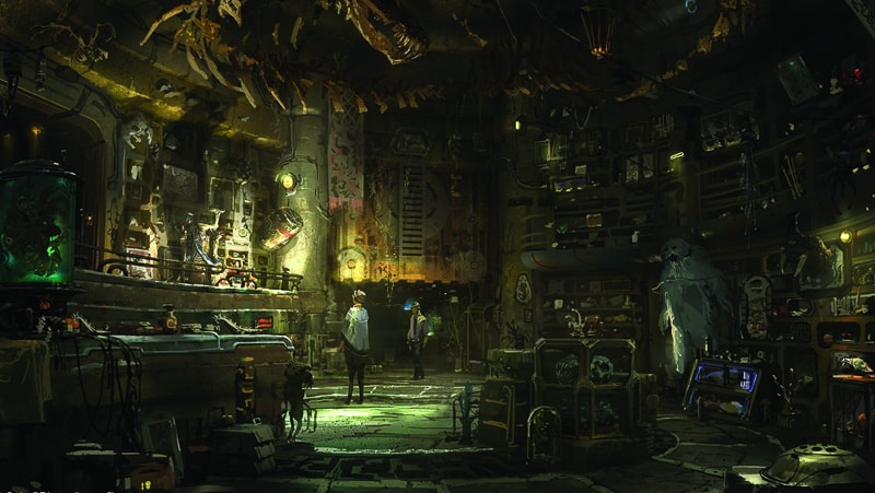 Star Wars Galaxy's Edge Dok Ondar's Den of Antiquities