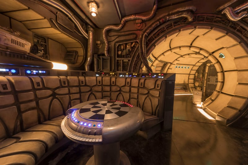 Star Wars Galaxy's Edge Millennium Falcon Smugglers Run
