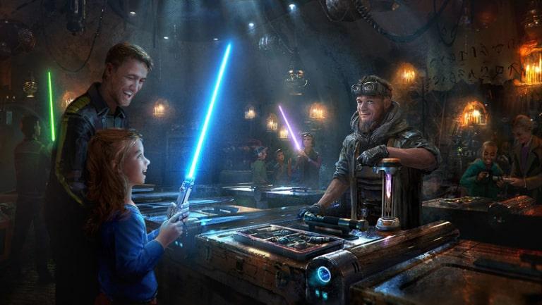 Savi's Workshop Handbuilt Lightsabers in Star Wars Galaxy's Edge