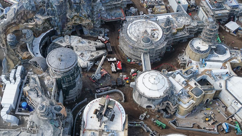 Galaxy's Edge Update February 2019 Millennium Falcon and Black Spire Outpost