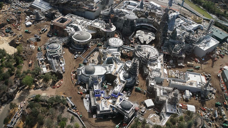 Galaxy's Edge Update February 2019 aerial