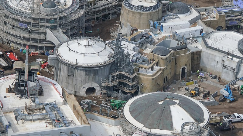 Galaxy's Edge Update February 2019 rock on building