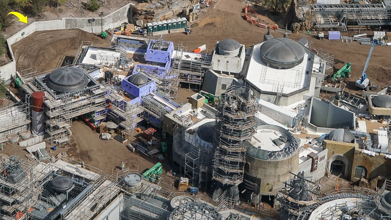 Galaxy's Edge Update February 2019 Rock spire on building