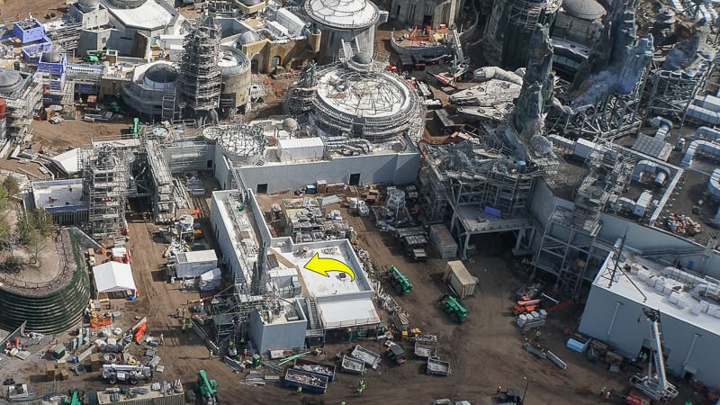 Galaxy's Edge Update February 2019 Black Spire Outpost rock