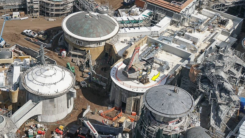 Galaxy's Edge Update February 2019 spaceship